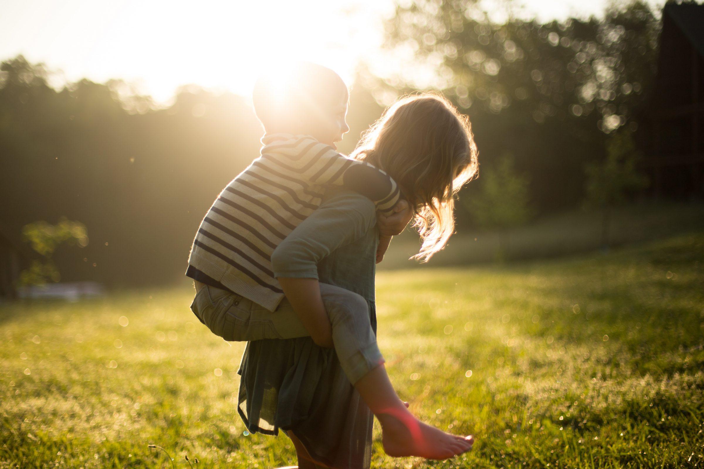 Kinderen natuur